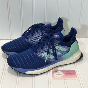 Adidas Solar Boost Blue Sneakers